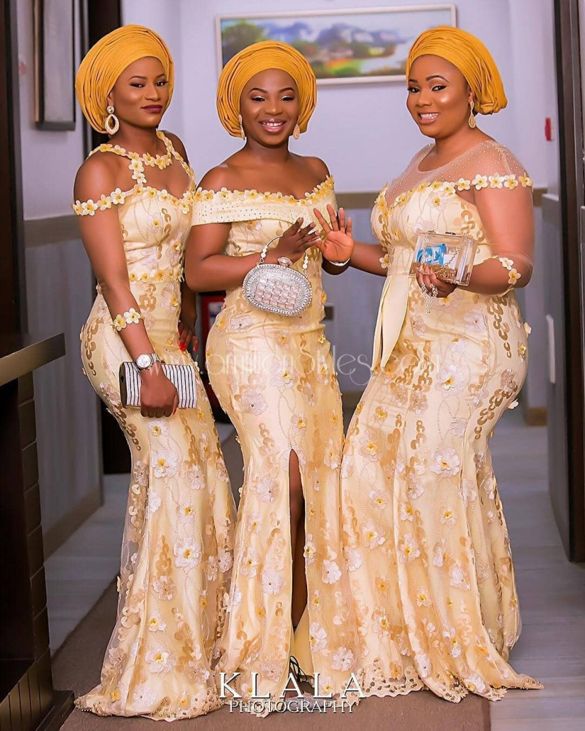 Show Off Your Style Wearing These Fabulously Unique Asoebi Styles