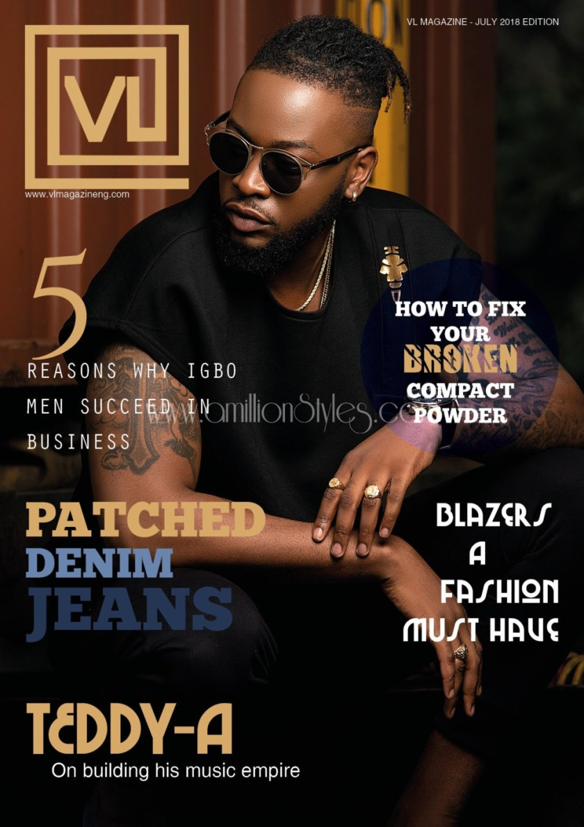 Hot Men: Teddy A, Rico Swavey And Leo Cover VL Magazine Latest Issue