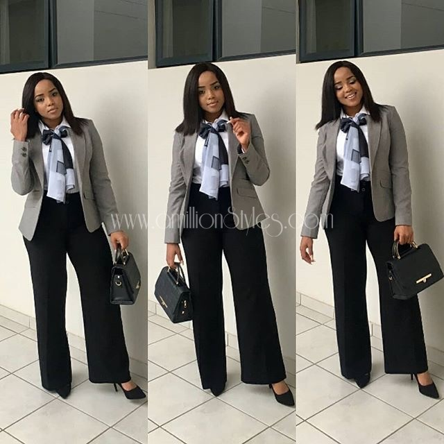 Update Your Wardrobe With These  Classy And Chic Work Outfit