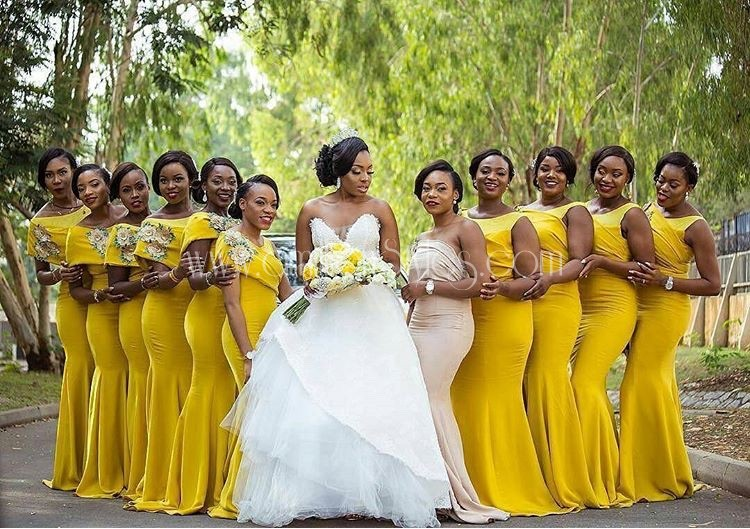 These Unique Bridesmaids Dresses Have Us Falling In Love