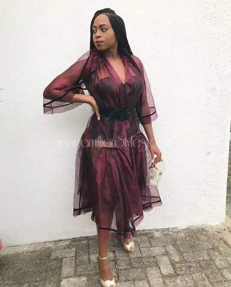 Fashion Faceoff: Zina Anumudu And Toni Tones In Nigerian Brand GREY