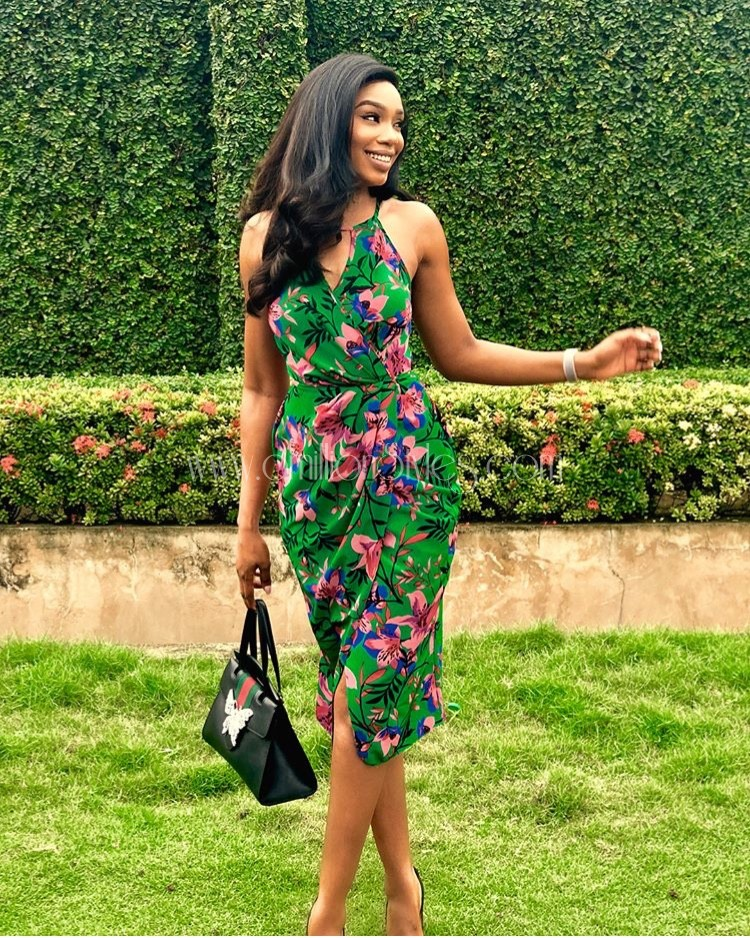 Look Of The Day: Sharon Ooja Is Eyecandy In These Pictures