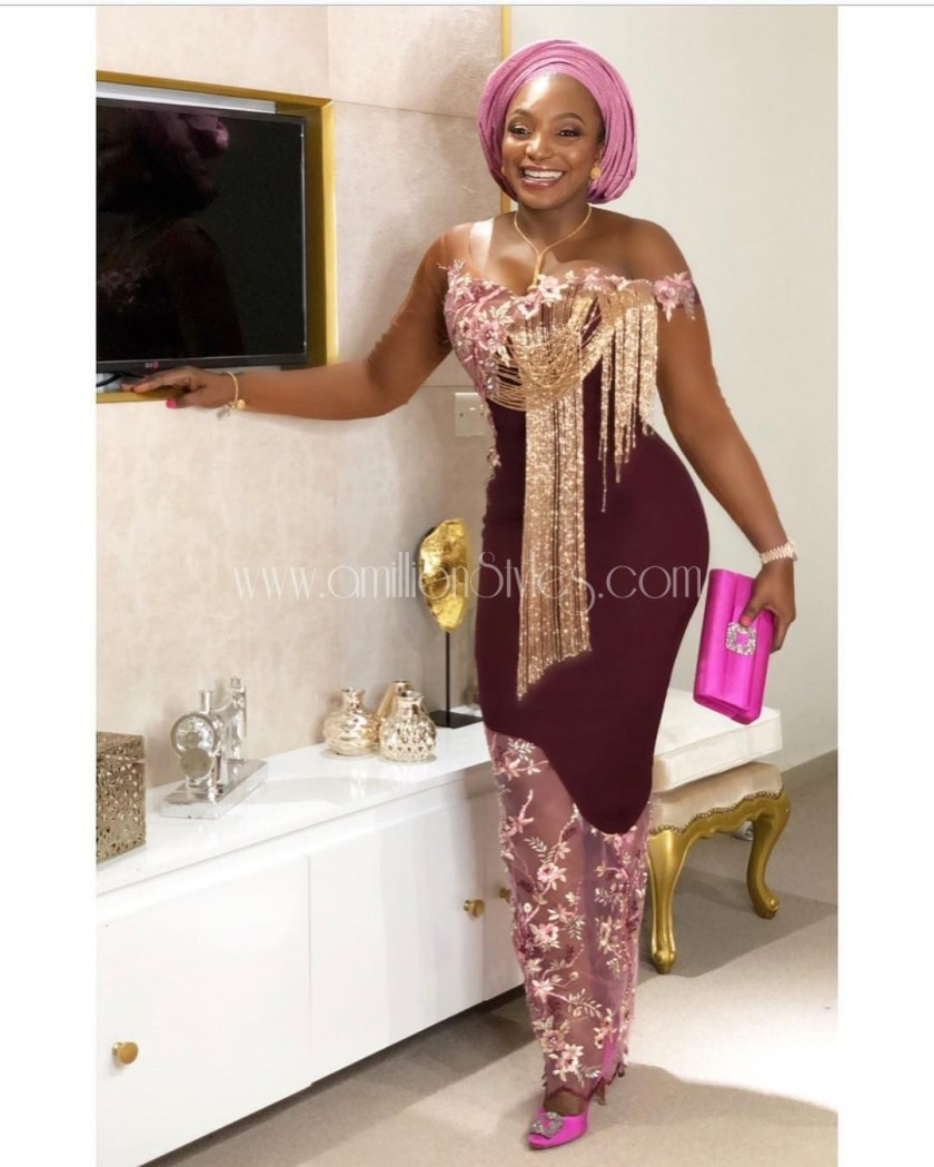 Today Isn't Over Till You See These Wonderful Lace Asoebi Styles