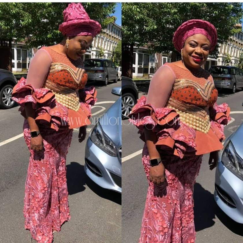 Rock The Frills Asoebi Styles Trend