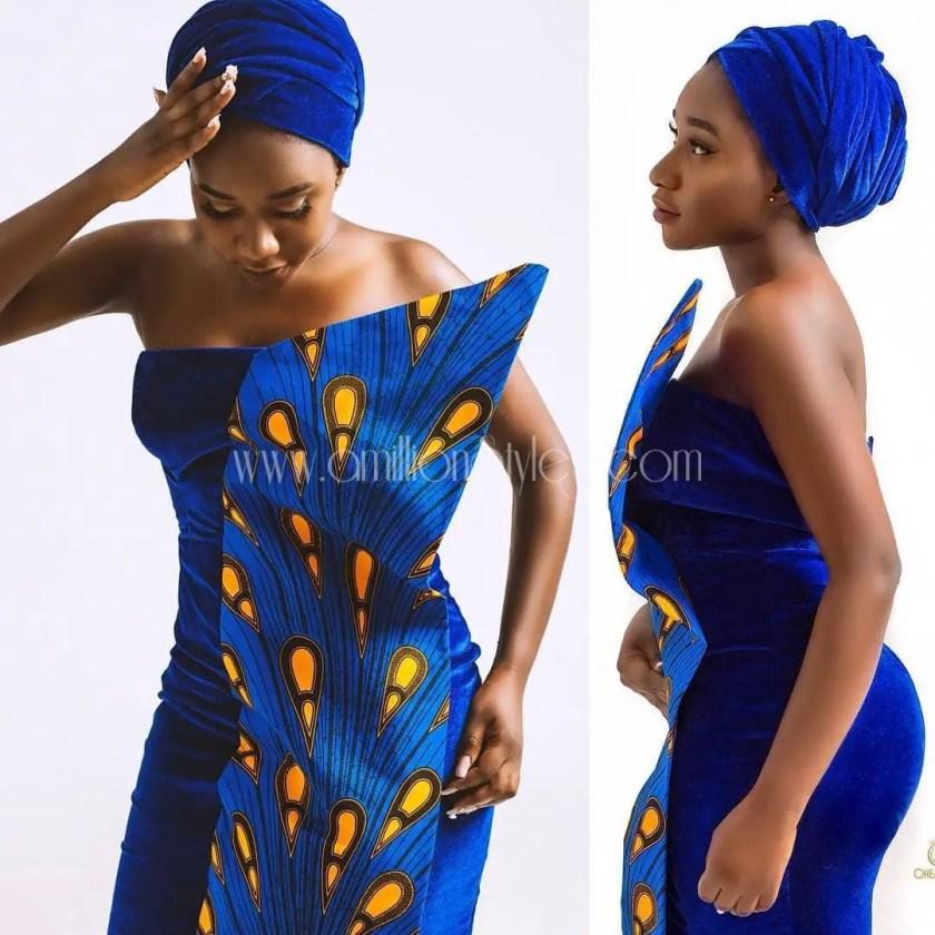 When Ankara Meets Other Fabrics: 13 Ankara Fusion Styles You Should See!