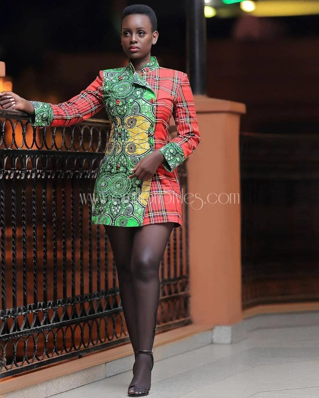 Great Short Ankara Dresses For The Rainy Season