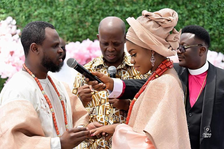 Pictures From The Wedding Ceremony Of Singer Becca And Her Boo Tobi Daniels