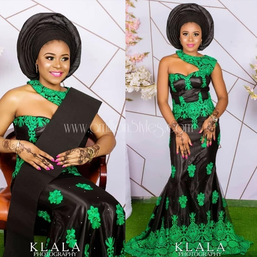Off To An Owambe? Peek Through These 10 Asoebi Styles Real Quick!