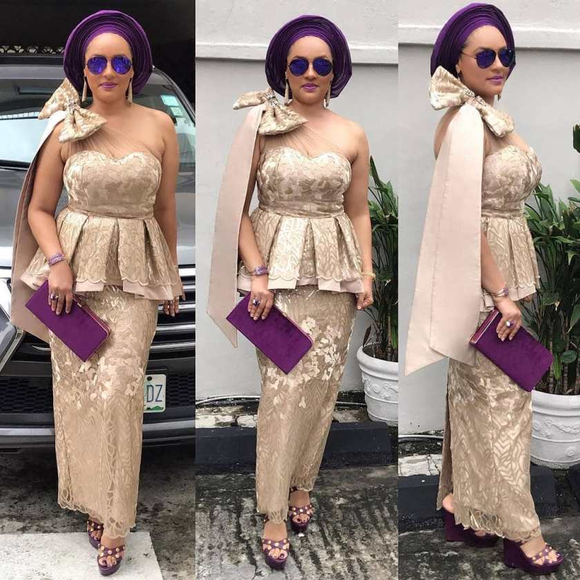 Let's Make Your Morning With 10 Latest Asoebi Styles This Thursday