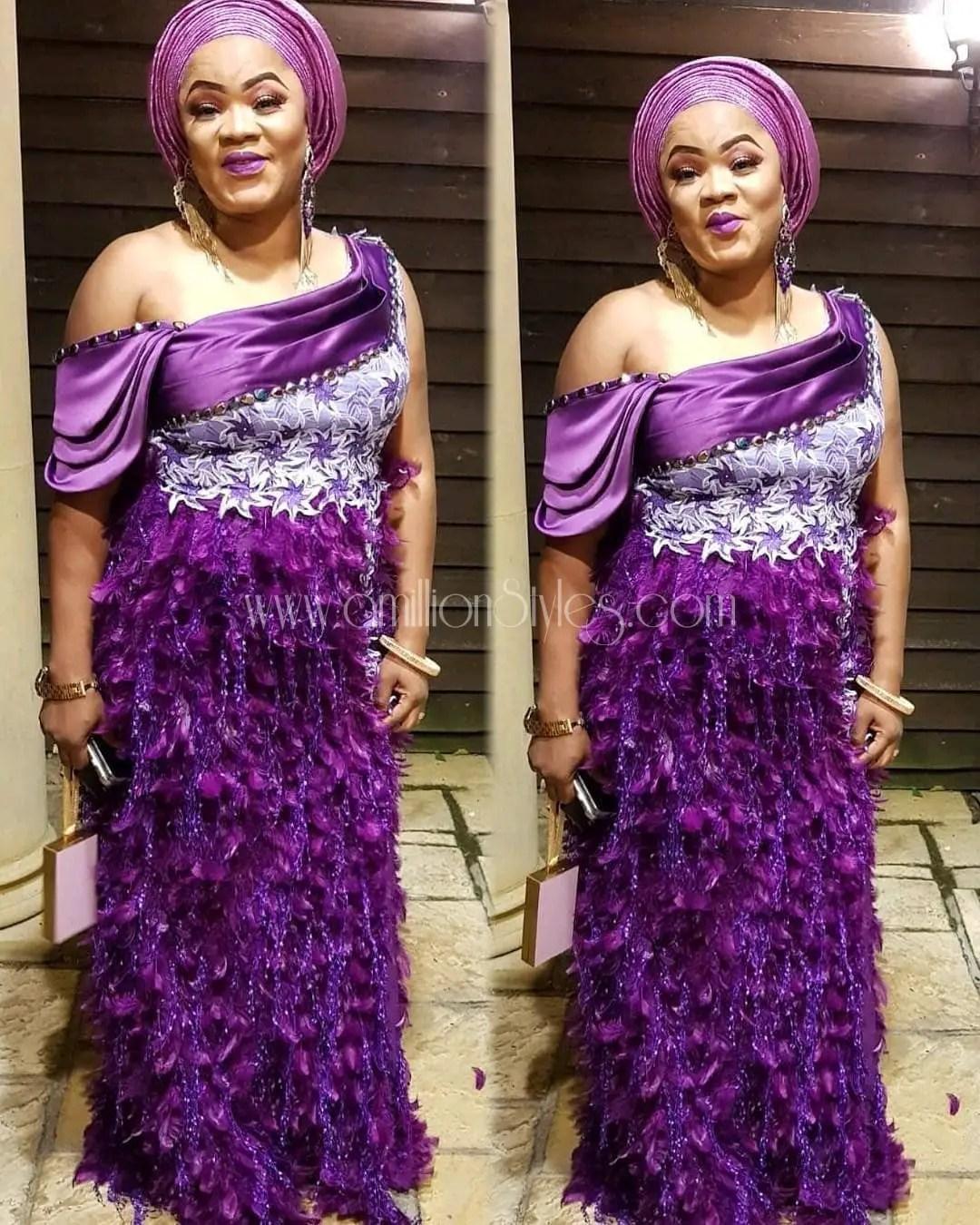 Here Are Fabulous Asoebi Styles Ideas For Older, Mature Women!