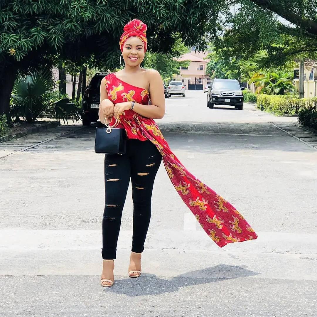 Monday Ankara Tops For Chic Ladies