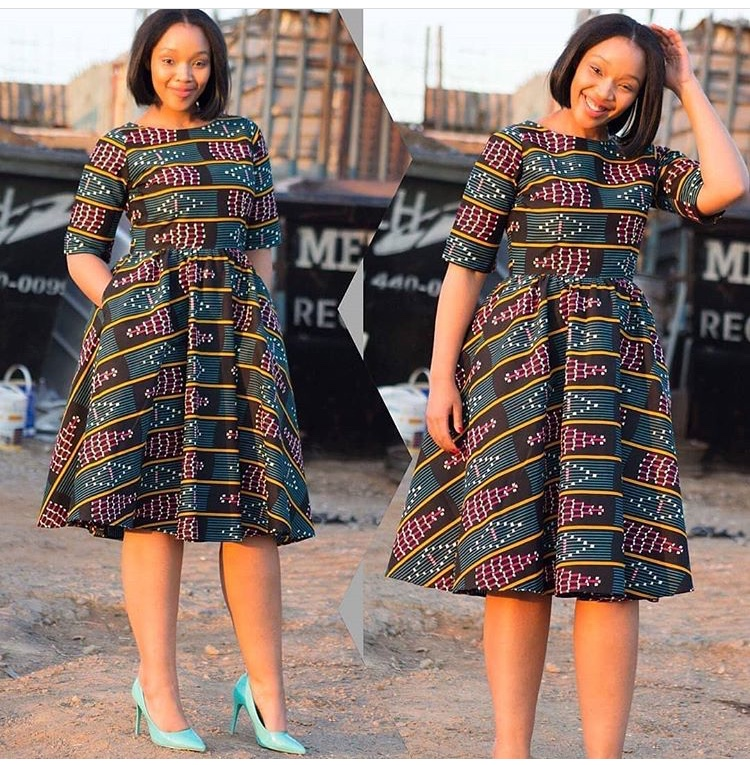 Mid Length Dresses You Can Rock To Church This Sunday