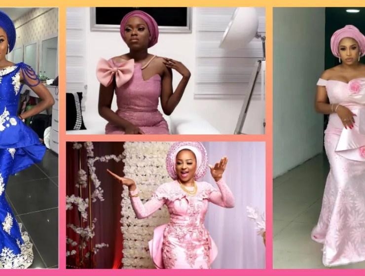 Let's Make These Sweet, Simple Asoebi Styles Trend