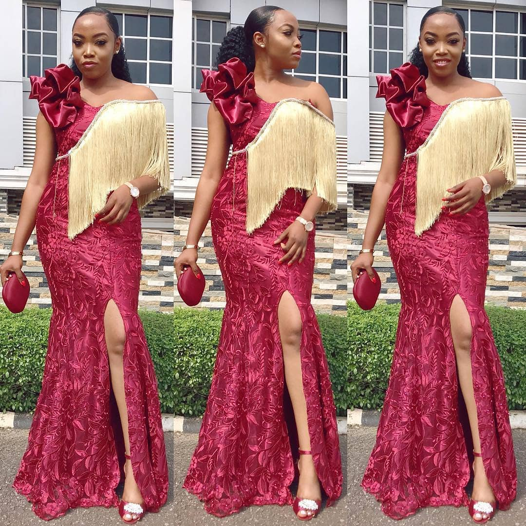 Fringe Asoebi Styles Lookbook 14