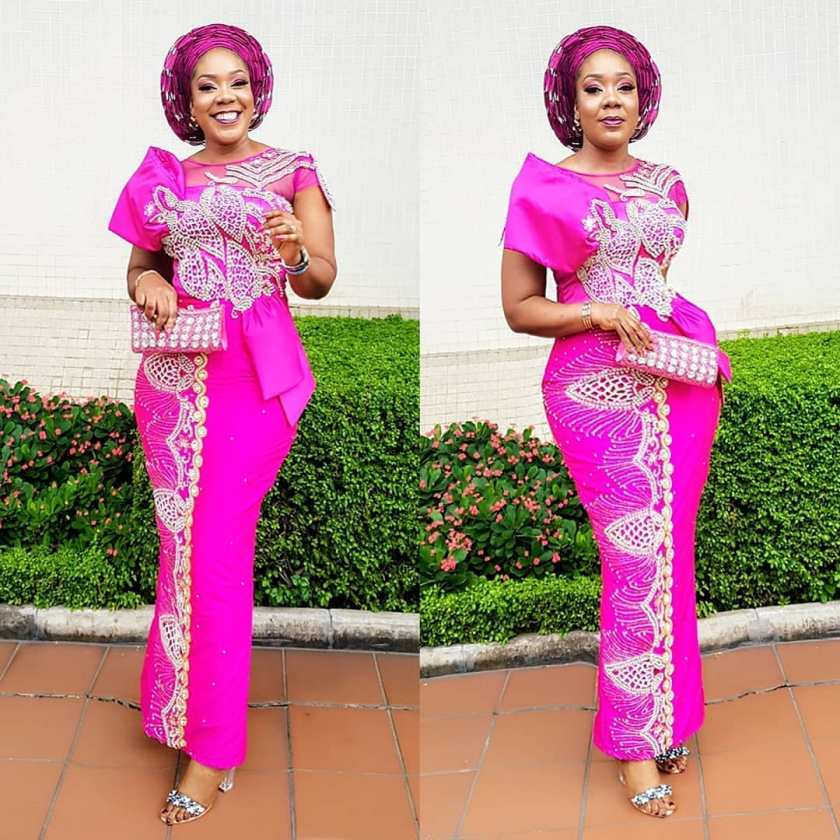 Fabulous Asoebi Styles Ideas For Older, Mature Women Lookbook 3