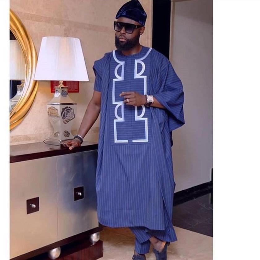 Awesome Agbada Styles Competition At The MerryMen Movie Premiere