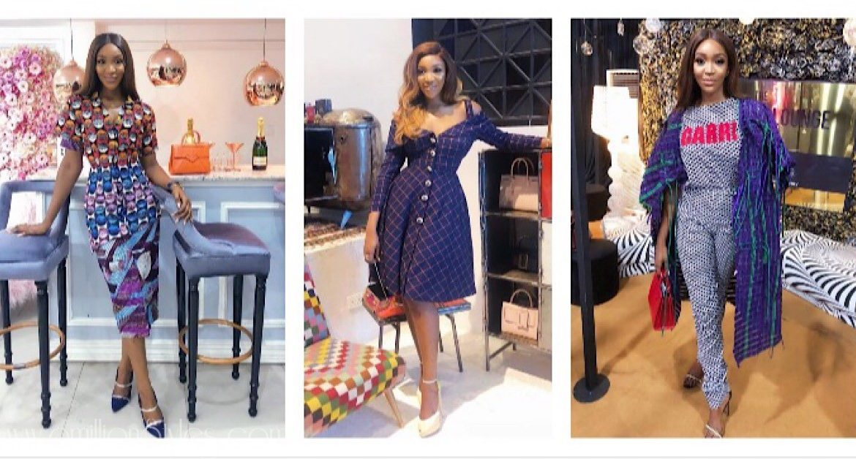 Idia Aisien Looked Totally Gorgeous All Through Fashion Week