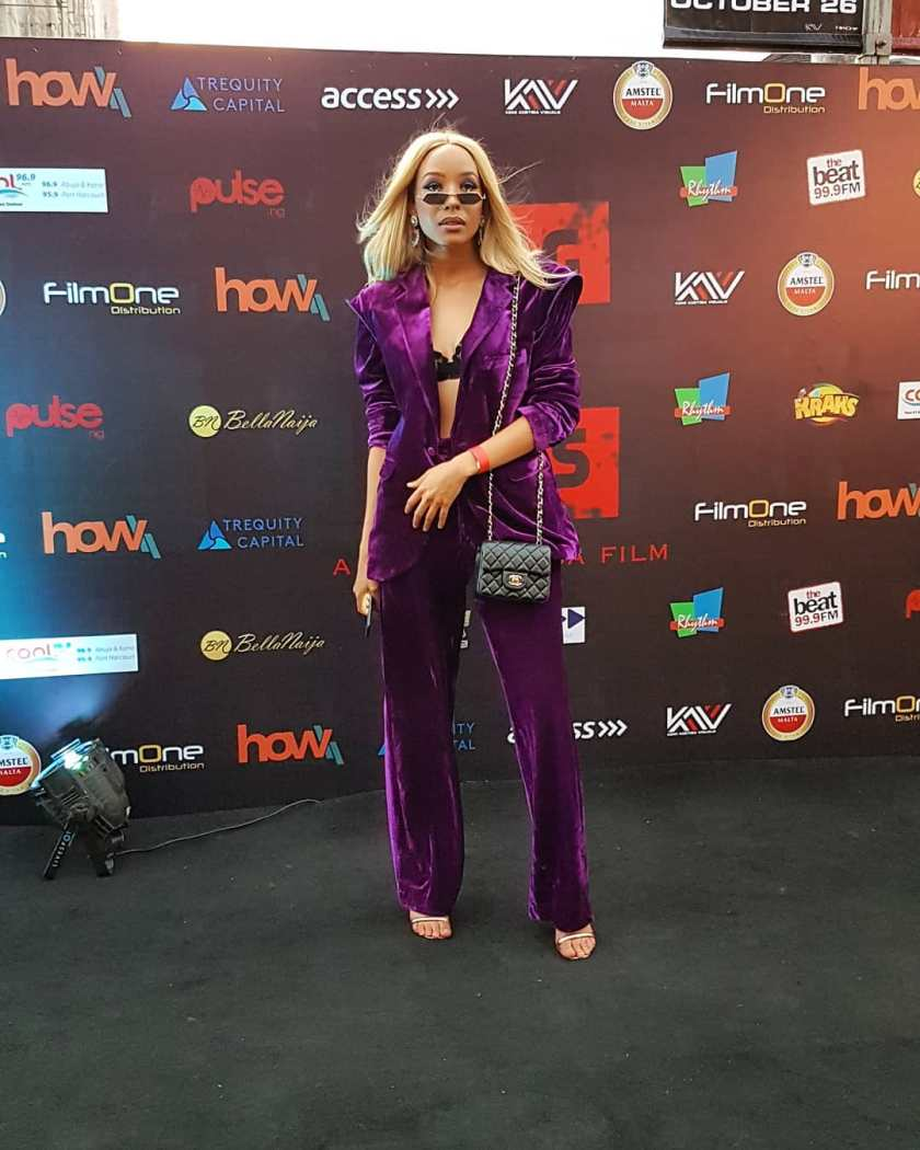 What Celebrities Wore To The King Of Boys Movie Premiere
