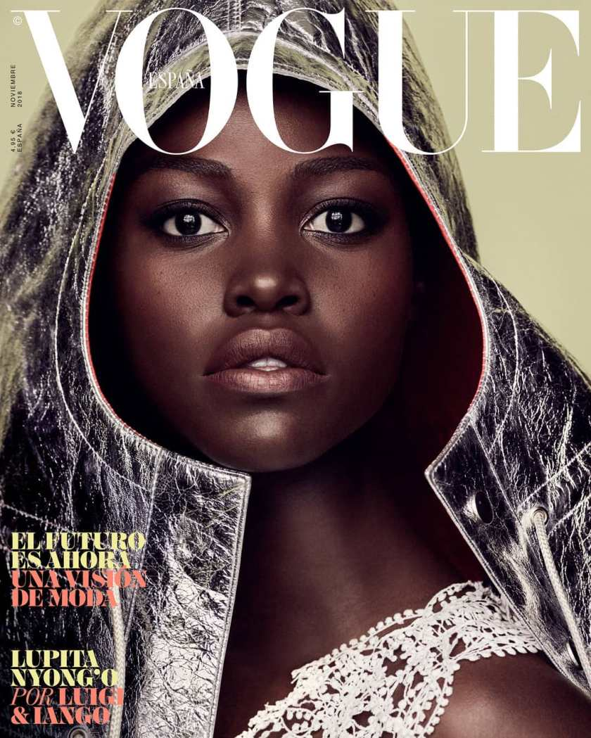 Lupita Nyongo Shines In All Her Melanin Goodness As She Covers Vogue Spain Magazine