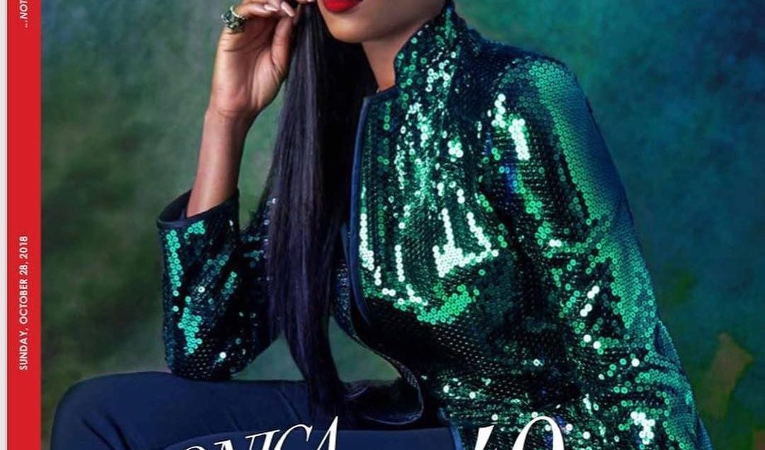 Veronica Odeka Stuns At Forty For ThisDay Style Magazine's Latest Issue!
