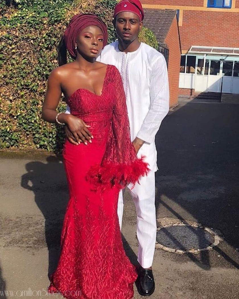 The Most Popular Color Of Asoebi Lace In 2018 Was Red