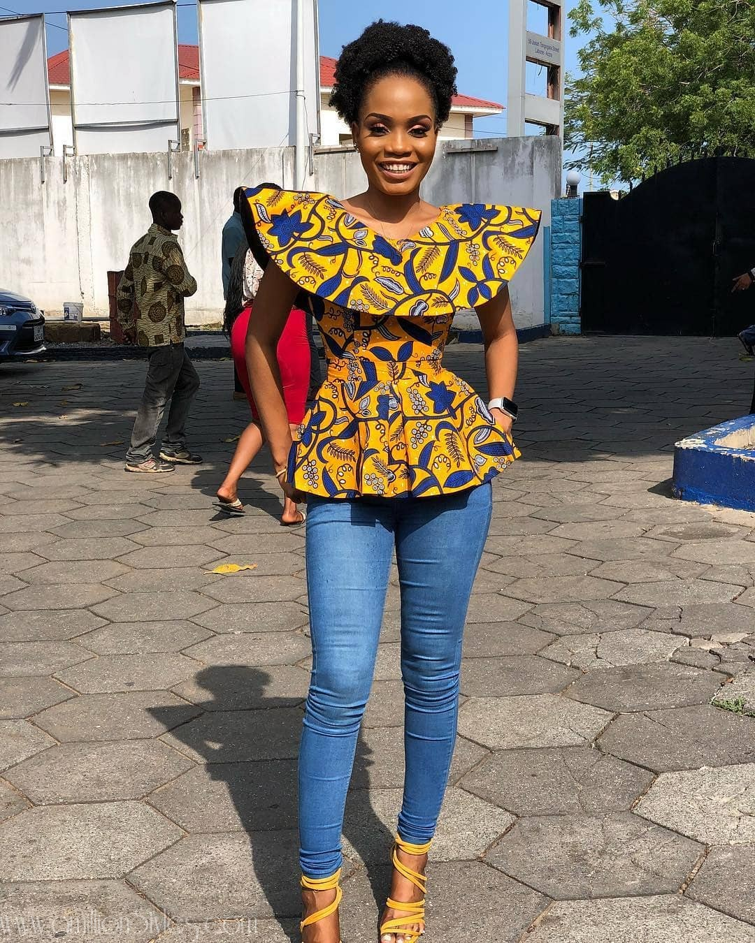 11 Great Ankara Tops That Will Catch Your Attention