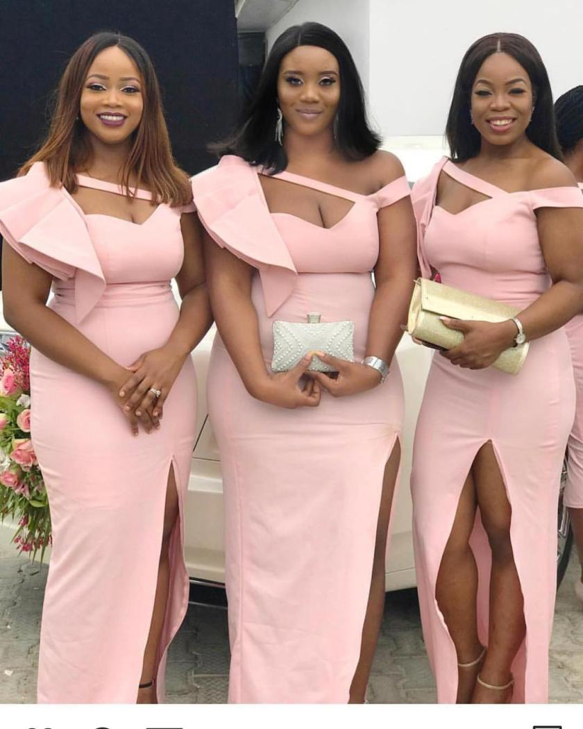 These Bridesmaids Styles Have Flair