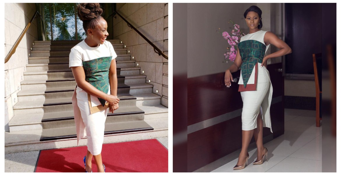 Chimamanda Adichie And Osas Ighodaro Rock The Same FIA Dress