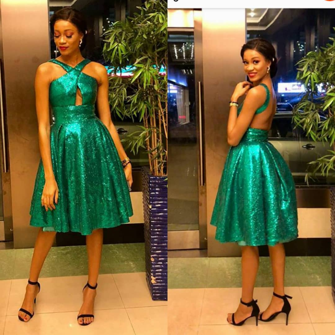 It Was Nigeria's Independence Day; Nigerians Represented In Green Outfits
