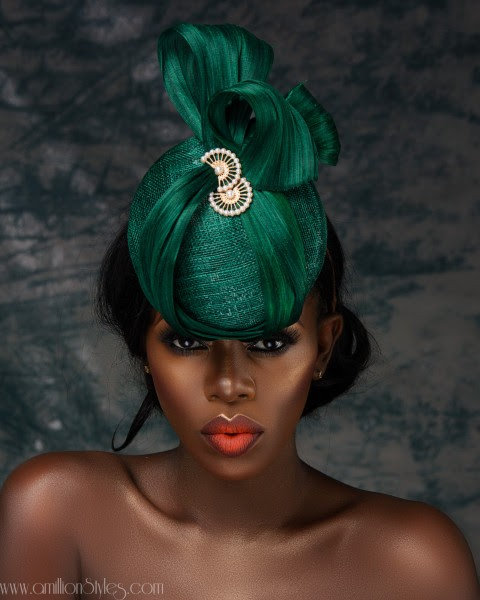 "Nigerian Millinery Brand Hattabelles Couture Releases Spring/Summer19 Hat Collection ""Uyai Iban"""