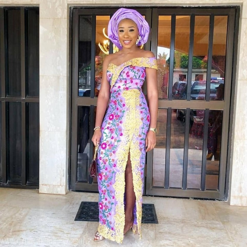 Lace Asoebi Styles Are Winners, Anyday!