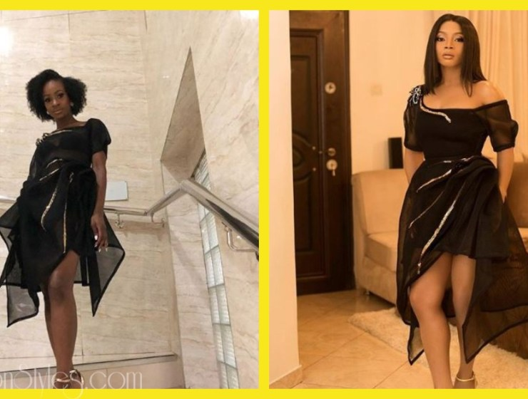 Who Rocked This Dress Better? Toke Or Anto?