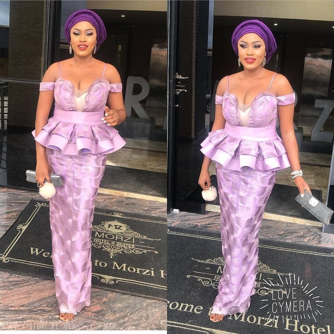 Raise A Glass To These Very Hawt Lace Asoebi Styles