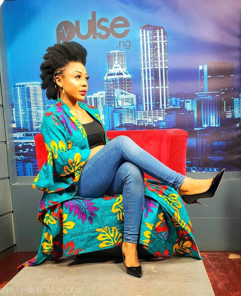Ifu Ennada Has Most Gorgeous Natural Hairstyles You Can Try!