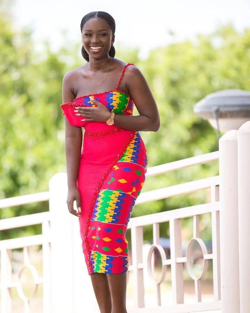 Lush Kente Styles For Intending Brides