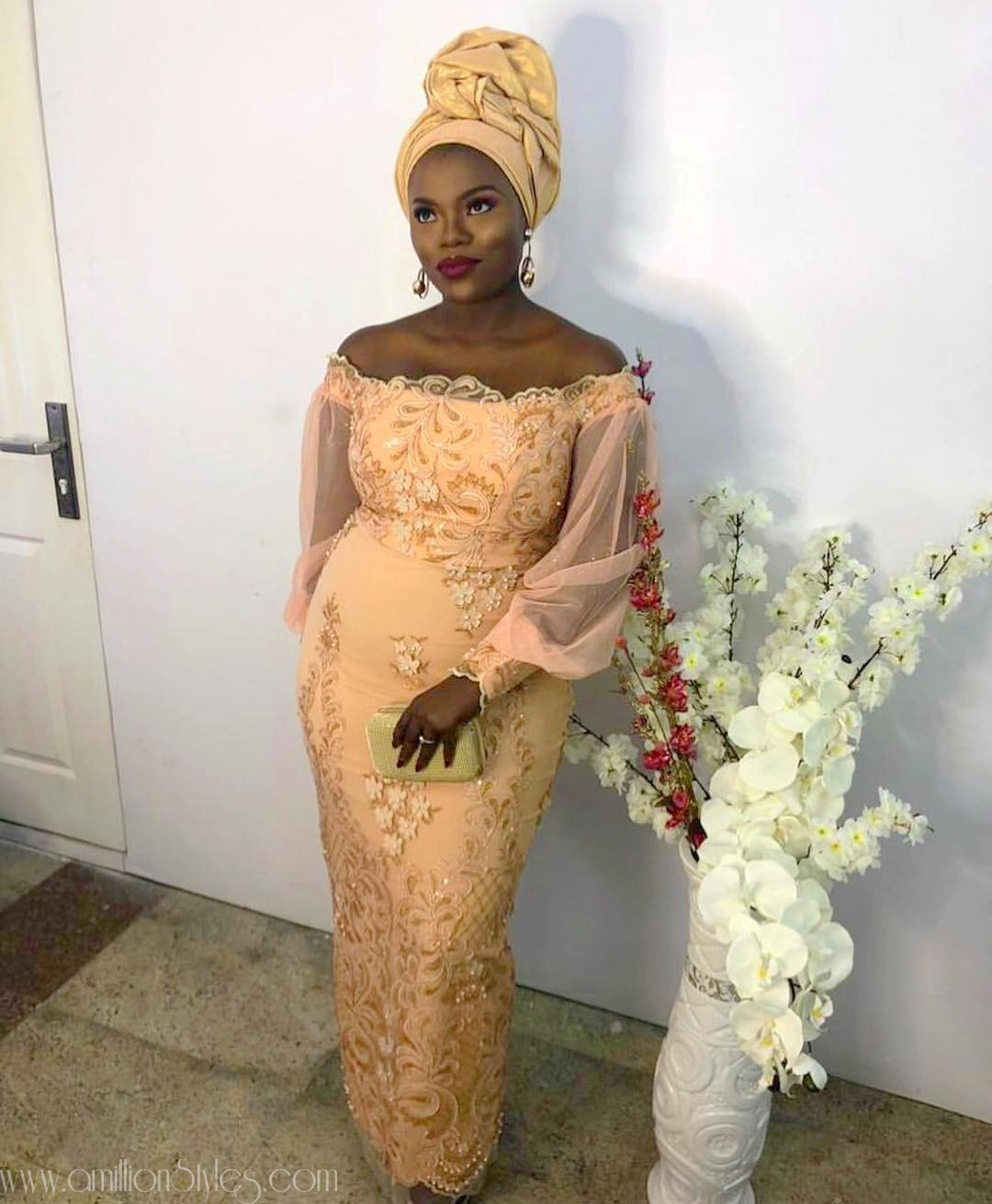 Tuesdays Are For Fab Lace Asoebi Styles