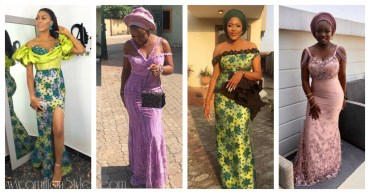 10 Fascinating Lace Asoebi Styles