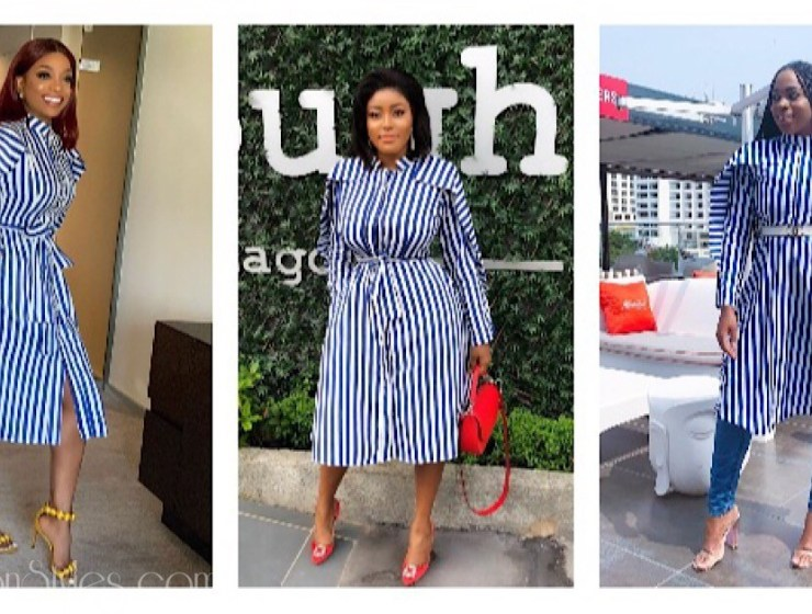 Who Wore It Best? Ozinna, Chioma And Denike In Lady Biba