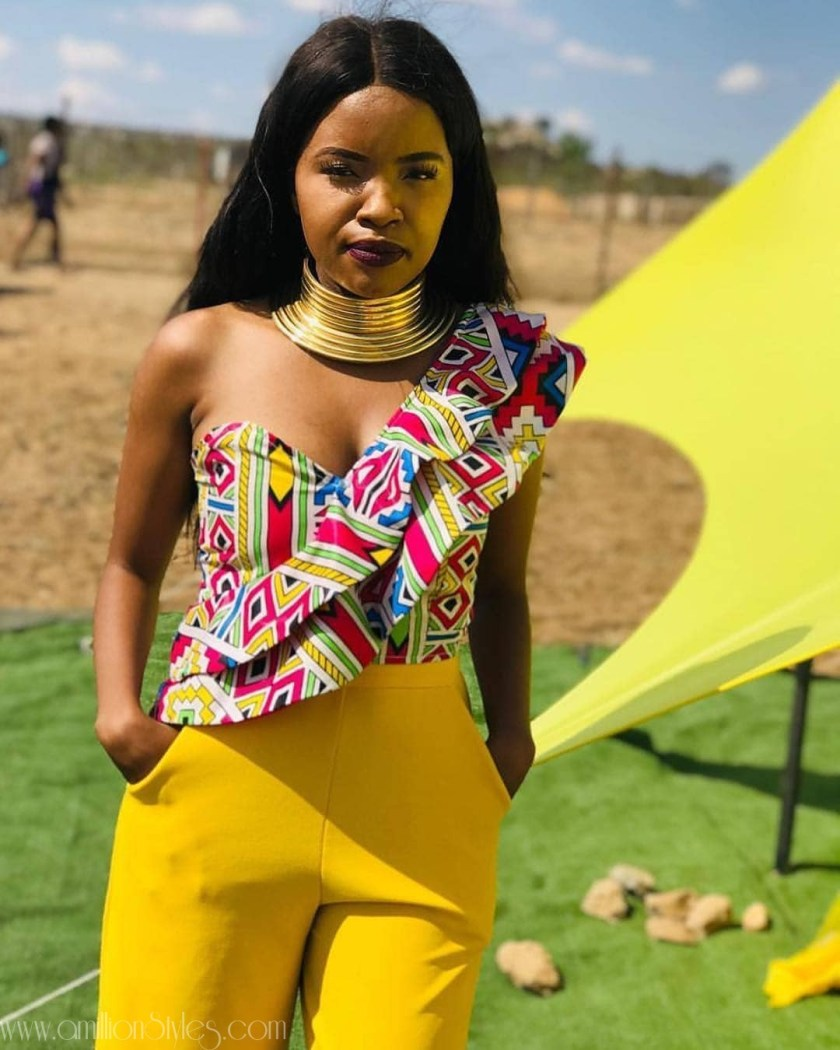 These Are Some Of The Best Ankara Blouses In Fashion