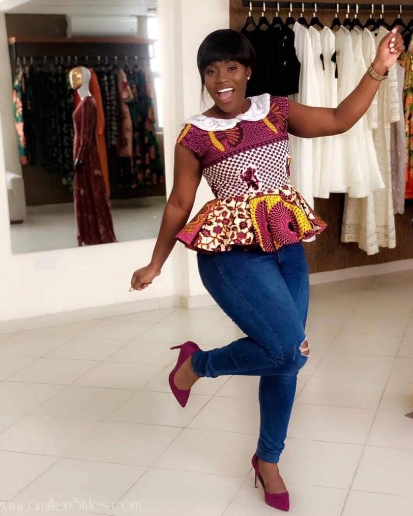 Stay Fly In These Fabulously Gorgeous Ankara Blouses