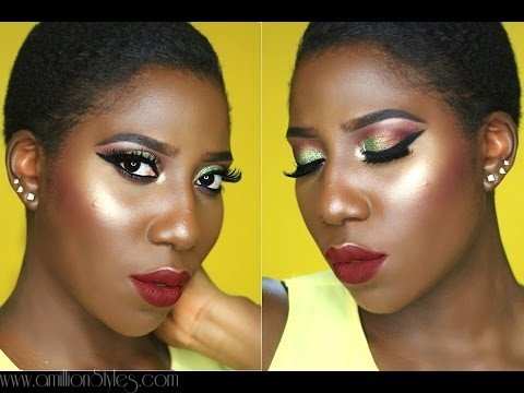 Here Is A Christmas Inspired Makeup Look To Try