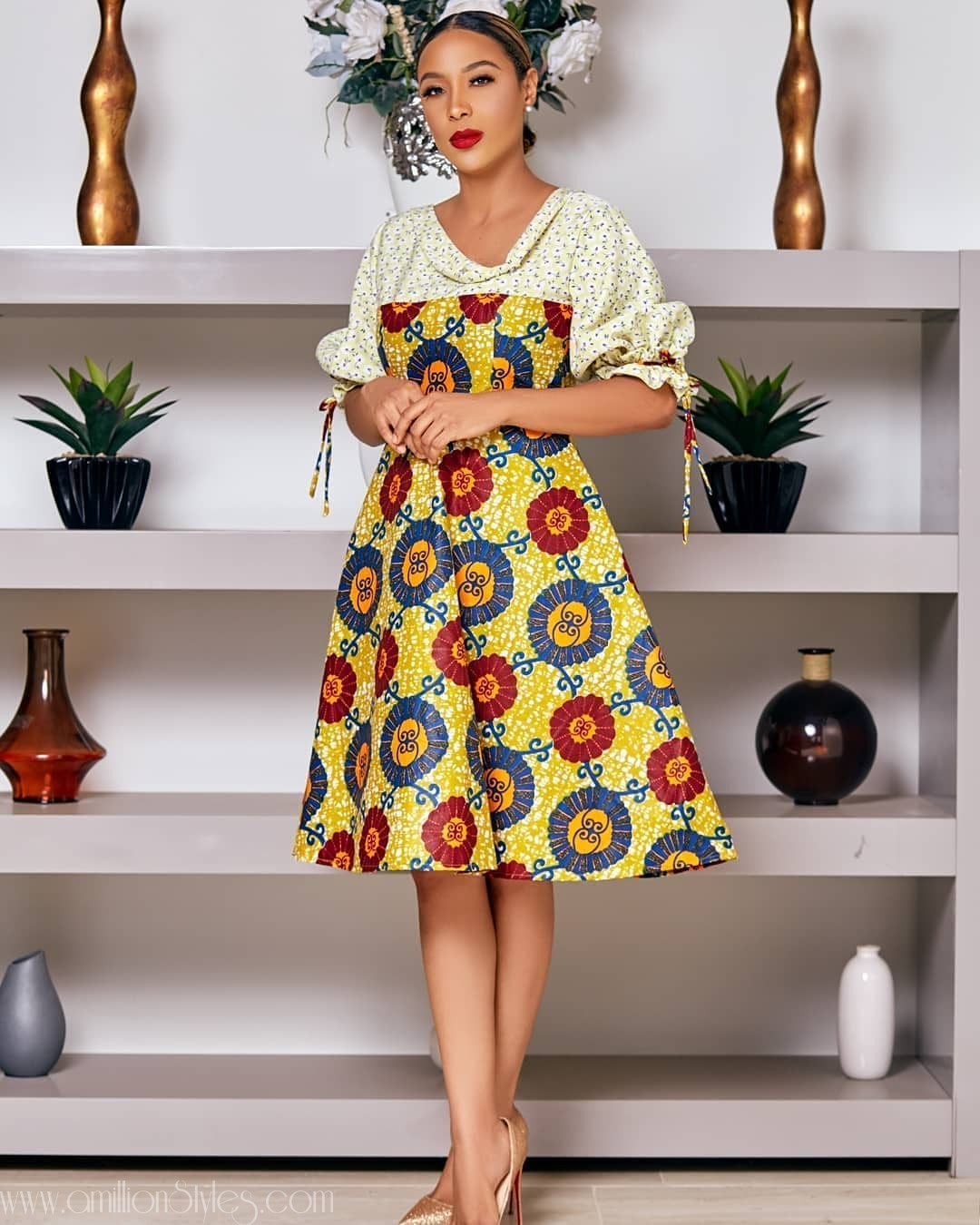 Only The Best Ankara Fusion Styles For You, Gorgeous!