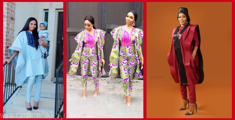 Ladies Looking Hawt In Agbada Styles