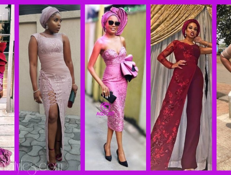 Latest Lace Asoebi Styles Volume 5