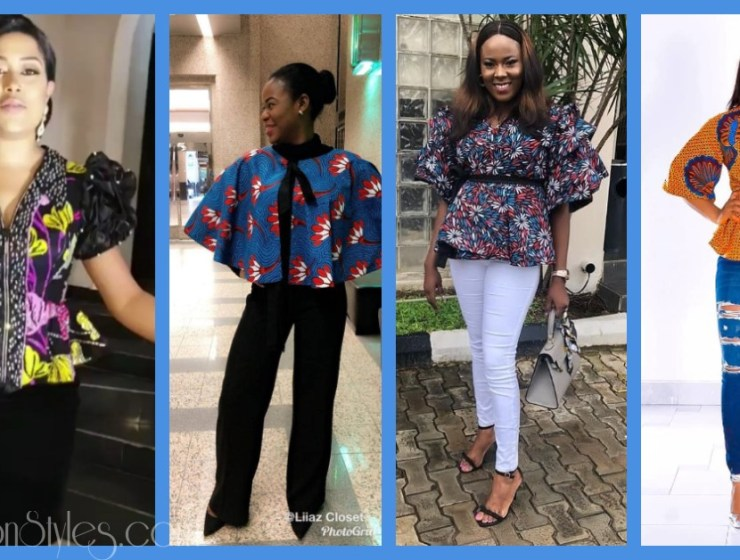 You Can Rock Any Of These Hawt Ankara Tops On A Skirt Or Trousers