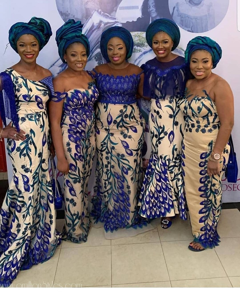 Friends Of The Bride: 7 Stylish Asoebi Bellas