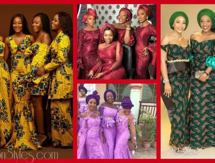 See 10 Slaying Asoebi Bellas Photos