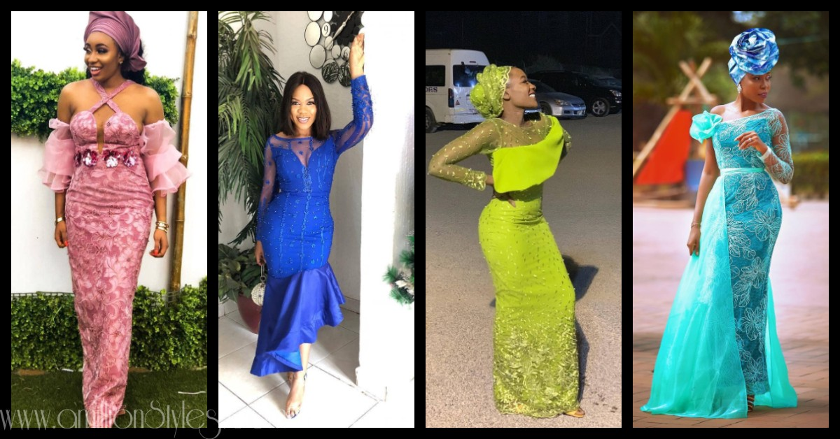 10 Befitting Lace Asoebi Styles For Weddings