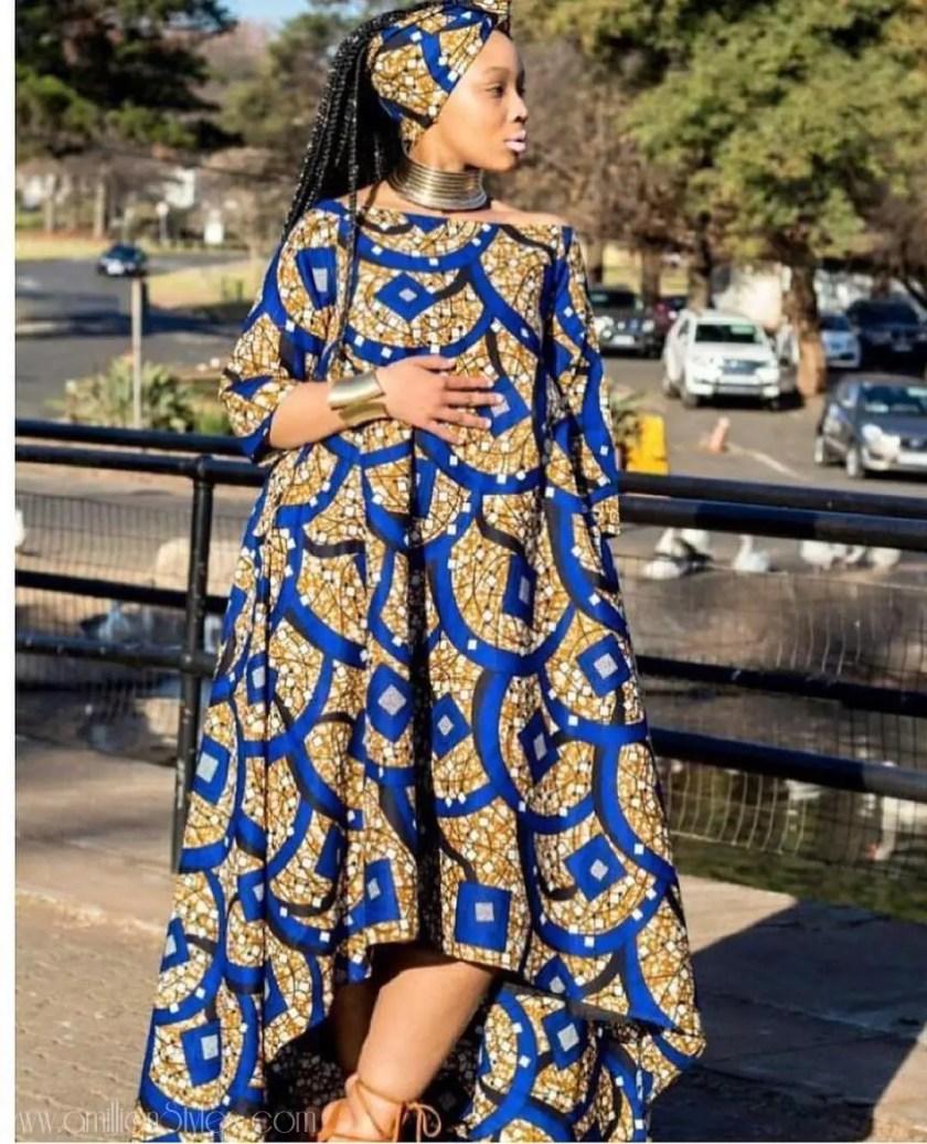 Here Are The Latest Ankara Maxi Dresses