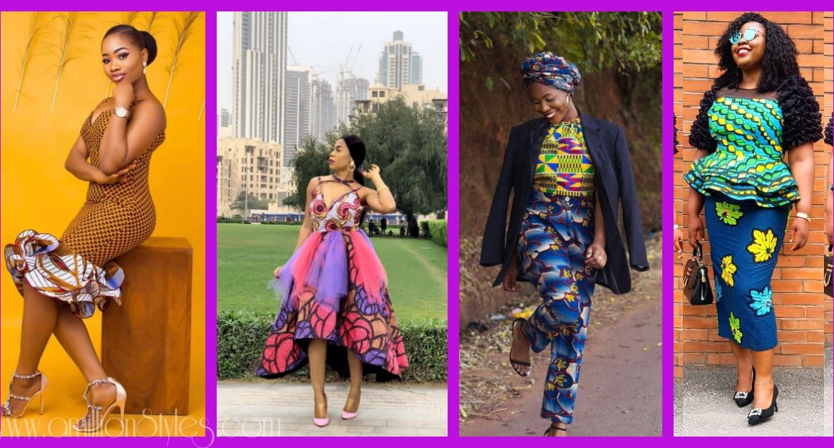 Let's Bring Back The Best Ankara Mix-Match Styles